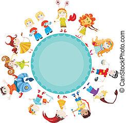 enfants, horoscope
