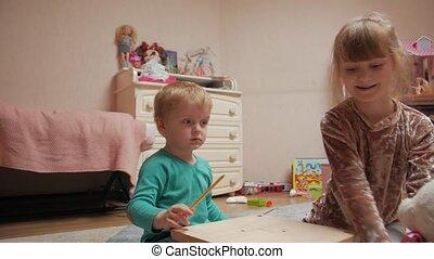 enfants jouer