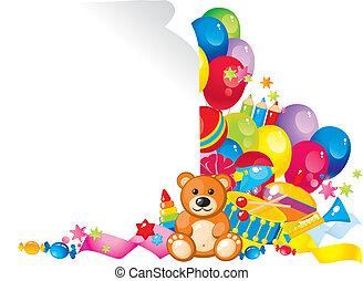 enfants, jouets