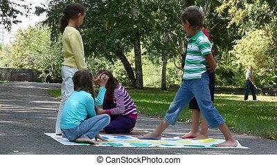 enfants, parc