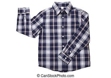 enfants, -, usure, chemise