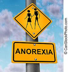 enfermedad, anorexia