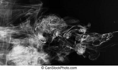 enfumé, nuages, texture, eau, dissoudre