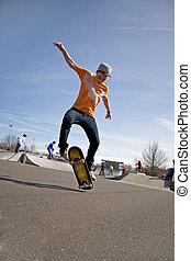 engaños, el skateboarding