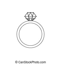 Fox Coloring Page On The White Background Vector Illustration