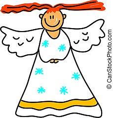 engel, geitje