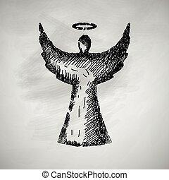engel, pictogram