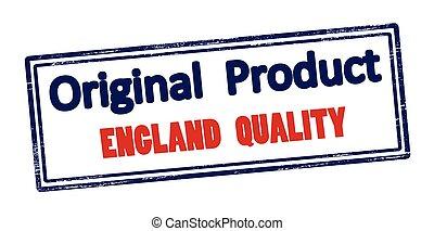 engeland, product, kwaliteit, origineel