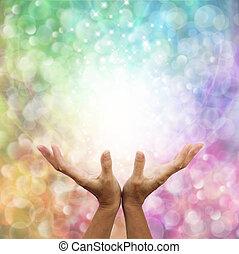 engelhaft, heilung, energie