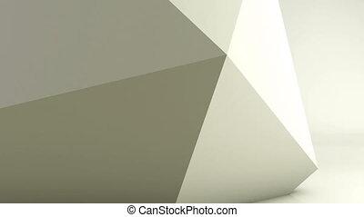 engendré, géométrique, animation par ordinateur, fond