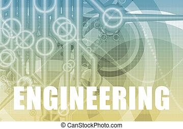 engenharia, abstratos