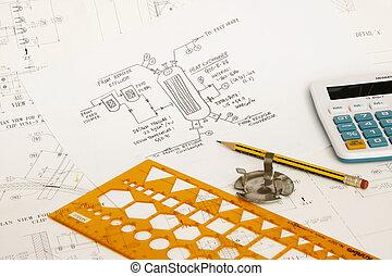 engenharia, desenho