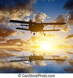 Engine airplane