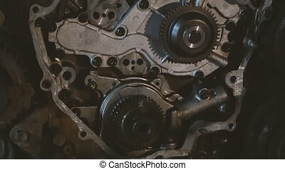 Engine. Automotive internal combustion engine