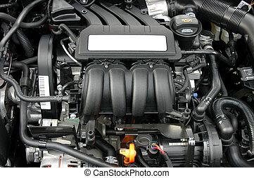 Engine - Car's engine close-up