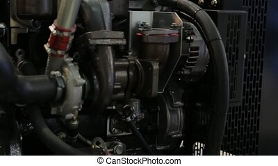 Engine Generator Electric Power - Diesel engine electric...
