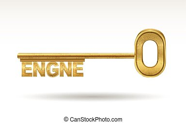 engine - golden key