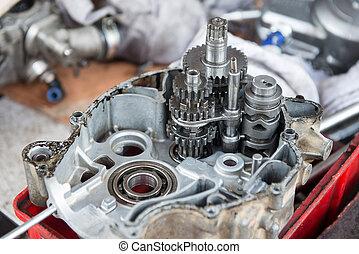 Engine Motorcycles ,Motorcycle engine repair