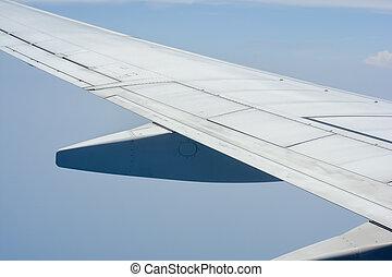 Engine of passenger jet aircraft