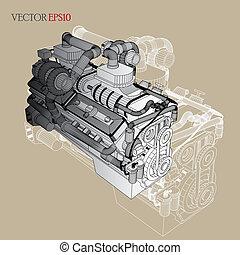 Engine of Vector Sketch