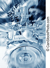 Engine - Part of a car engine