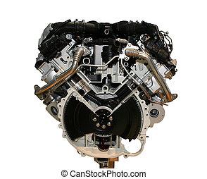engine - isolated enginge of a car