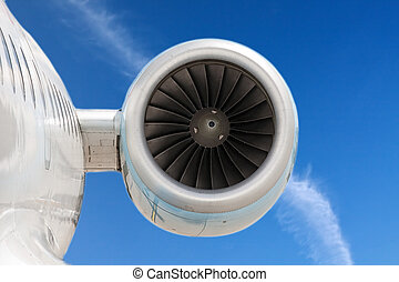 Engine - Powerful engine of the modern aircraft