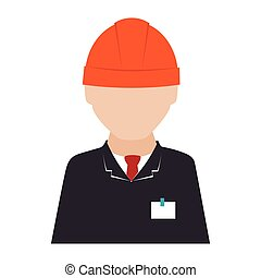 engineer architect construction icon graphic vector