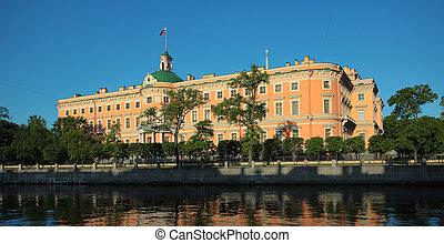 Engineer castle . Saint-Petersburg, Russia