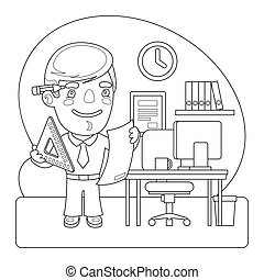 Engineer Coloring Page