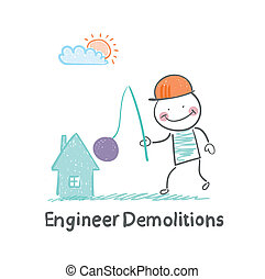 Engineer Demolitions destroys home