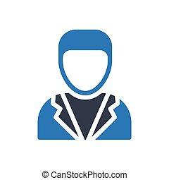 engineer  glyph color icon
