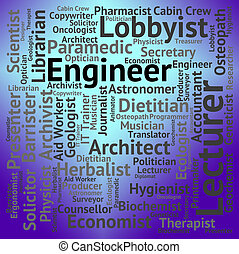Engineer Job Shows Hire Jobs And Occupation