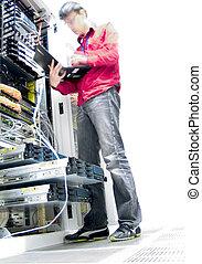 Engineer on Duty - Network Engineer in motion