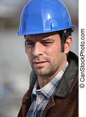 Engineer on site