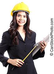 Engineer woman