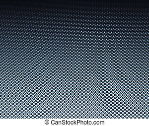 Engineered metal texture