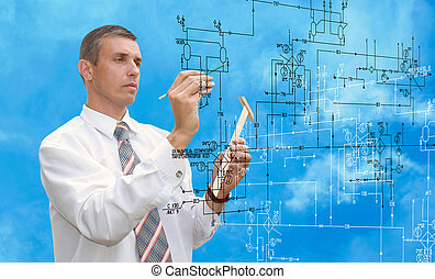 engineer.engineering, průmyslový