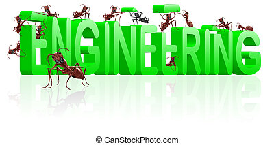 engineering building construction engineer ants working
