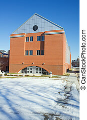 Engineering Building on the campus of a historically black unive