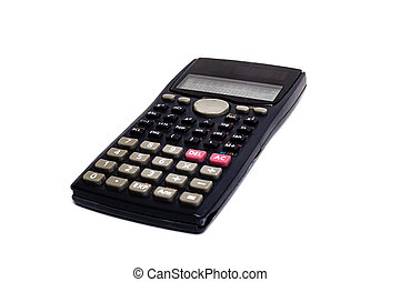 Engineering calculator isolated on a white background