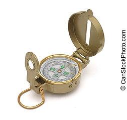 Unfolded engineering compass