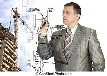 Engineering Designing buildings.