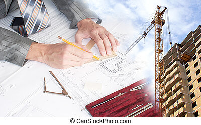 Engineering Designing  buildings in construction