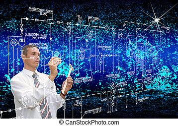 Engineering designing cosmic technology