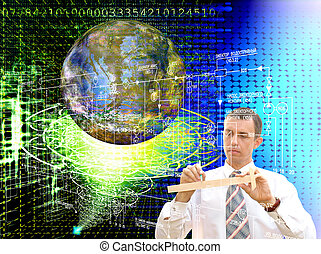 Engineering designing Internet