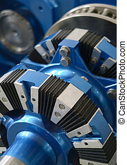 Engineering Detail Of A New Blue Engine