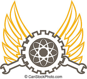 Engineering Icon - An icon with engineer, science and...