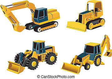 engineering icon - Vectorial set of engineering icon. No...