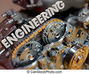 Engineering Motor Gears Automotive Designing Power